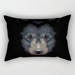 Shadows Bear Rectangular Pillow