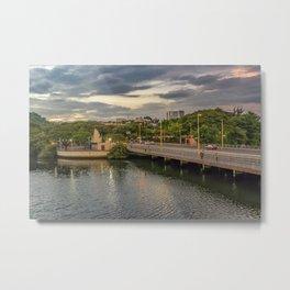 Estero Salado River Guayaquil Ecuador Metal Print