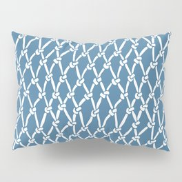 Fishing Net Blue Pillow Sham