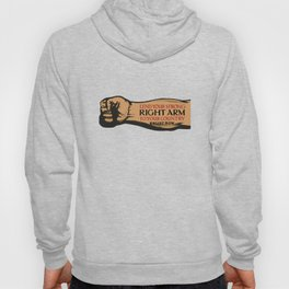 Lend Your Strong Right Arm -- Enlist Now Hoody