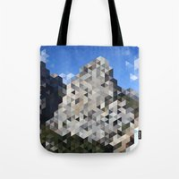 yosemite Tote Bags featuring Yosemite by Catherine Gibbard