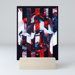 Abstract Screen Printing Shape Mini Art Print