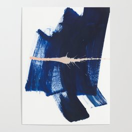 brush strokes 4 Poster