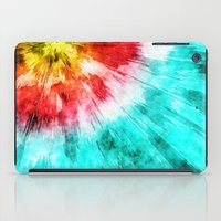 tie dye iPad Cases featuring Colorful Tie Dye by Phil Perkins