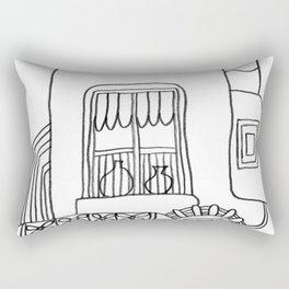 House called Venus Rectangular Pillow