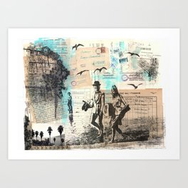 Long Hot Summer Art Print