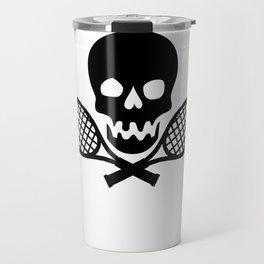 Tennis Skull Travel Mug