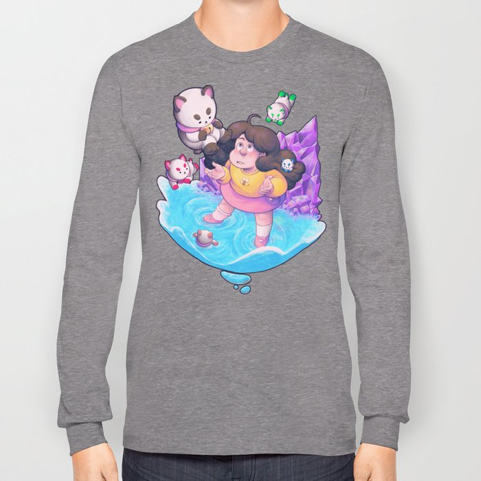Bee And Puppycat Dream Long Sleeve T Shirt By Merrigel Society6