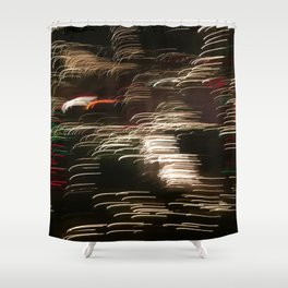 Electric Snowstorm 2 Shower Curtain