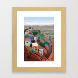 Nogales la Frontera Framed Art Print