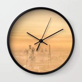 Hazy Apocalypse Wall Clock