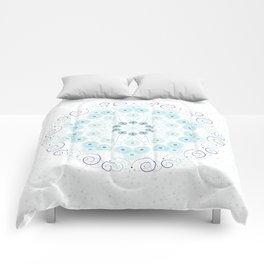 Spring breeze mandala Comforters