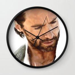 Hugh Jackman Wall Clock