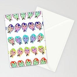 Many Faces (Rainbow) Stationery Cards