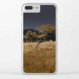 Approaching storm Clear iPhone Case