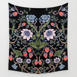 Strawberry Tapestry Wall Tapestry
