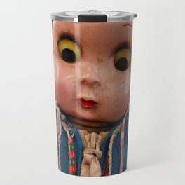 Creepy Blue-Hoodie Baby Travel Mug
