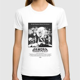 Gamora and the Guardians of the Galaxy T-shirt