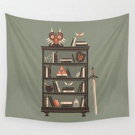 Zelda Shelf // Miyamoto Wall Tapestry