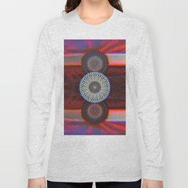Three Mandalas Long Sleeve T-shirt