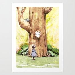 A Curious Quercus Art Print