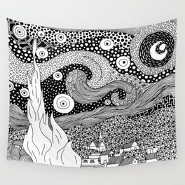 Van Gogh - Starry Night Wall Tapestry
