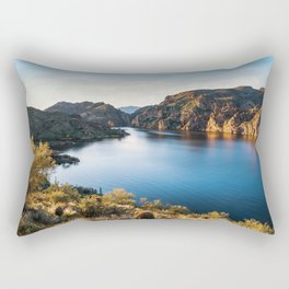 Saguaro Lake Arizona Travel Photography Rectangular Pillow