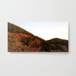 Burned Mountain Metal Print