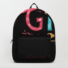 Blessed to be called gigi Backpack