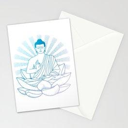 Blue Buddha Stationery Cards