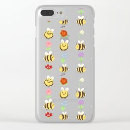 BEES! Clear iPhone Case