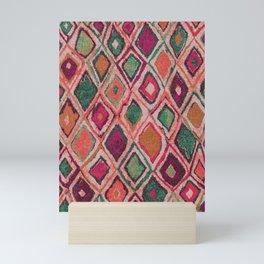 Moroccan Boho Style Artwork A11 Mini Art Print
