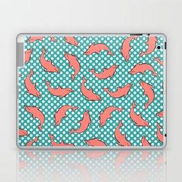 dolphin pattern Laptop & iPad Skin