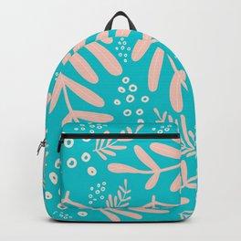 Floral Marine pattern design Backpack