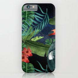Tropical Space #5 iPhone Case