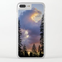 Sunset & Sequoias Clear iPhone Case