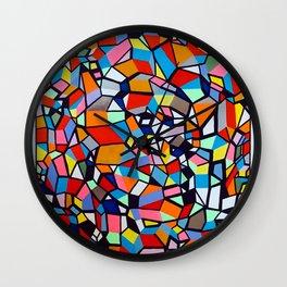 TRAPEZOID KINSHIP Wall Clock
