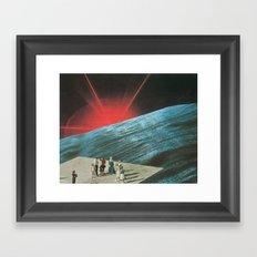 Ho-Hum Phenomena Framed Art Print
