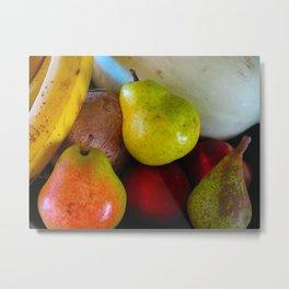 Fruitbowl Metal Print