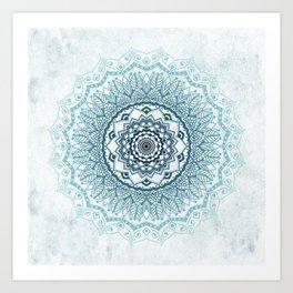 Frankfurter Mandala Art Print