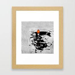 ichigo bleach Framed Art Print