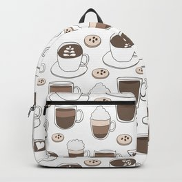 Coffee Cups Backpack