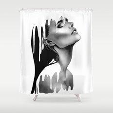 Paint Rain Shower Curtain