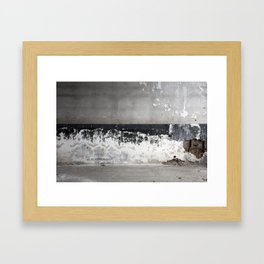Decaying Wall Framed Art Print
