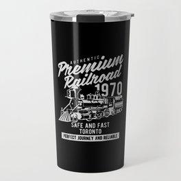 authentic premium railroad Travel Mug