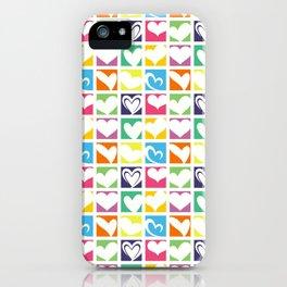 HEARTS A PLENTY iPhone Case