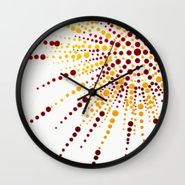 Sunshine Spotted Wall Clock