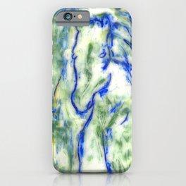 Encaustic Horse iPhone Case