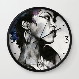 Miseducation: Lauryn Hill tribute portrait Wall Clock