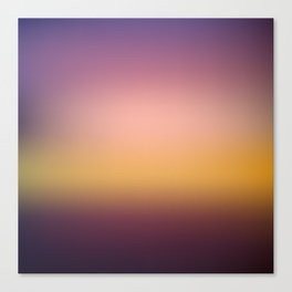 Sunset Gradient 10 Canvas Print
